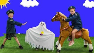 Paw Patrol Hunt with Assistant and Batboy Ryan hunting for the silly Ghost thumbnail