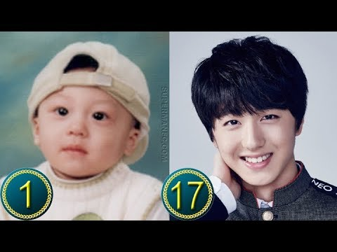 [Chani - SF9] Kang Chanhee Predebut    Transformation from 1 to 17 Years Old