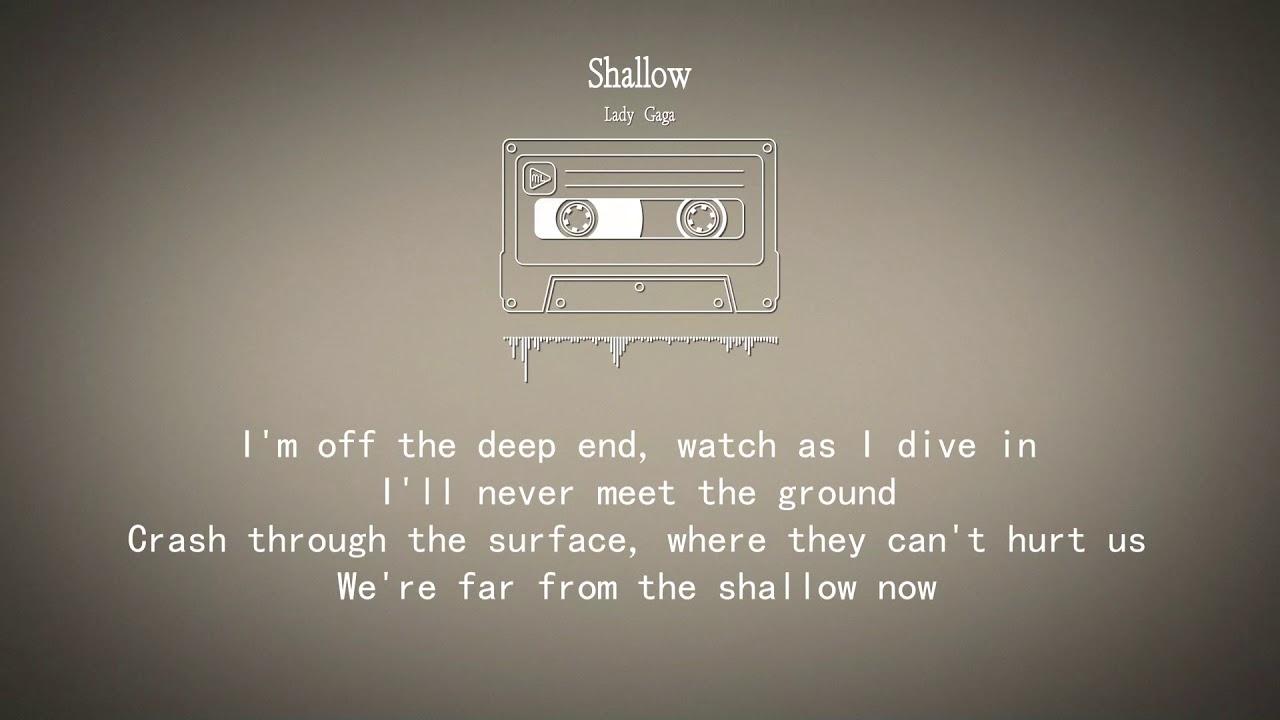 shallow- Lady Gaga lyrics