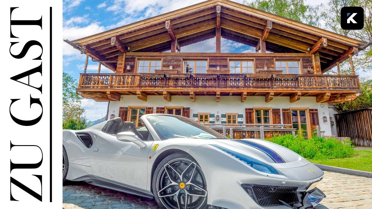 Haustour: Luxuschalet in Tirol, Jochberg inkl. Indoor- & Outdoorpool