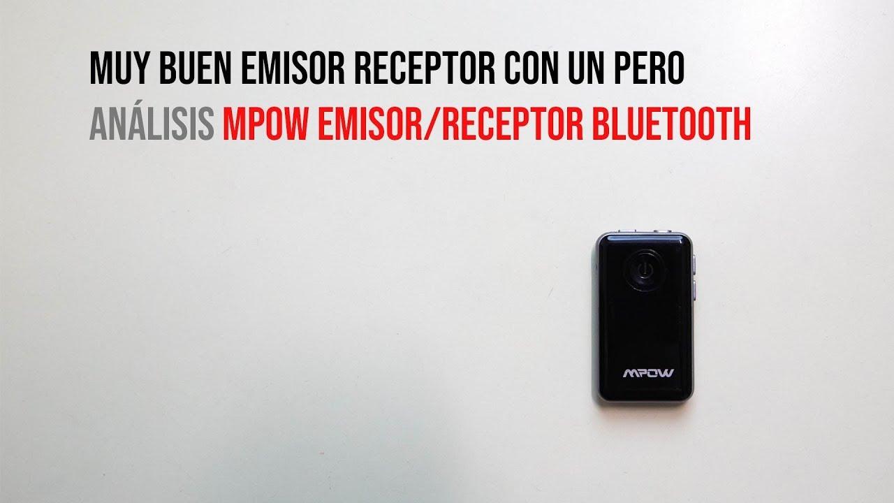 Muy Buen Emisor Receptor de Bluetooth con un Pero: Analisis Mpow Emisor  Receptor Bluetooth (Very Good Emitter Receiver Bluetooth with a But: Mpow  Emitter Bluetooth Receiver Review)