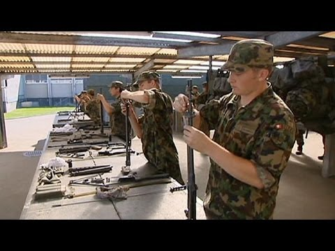 Swiss to vote whether to keep compulsory military service for men