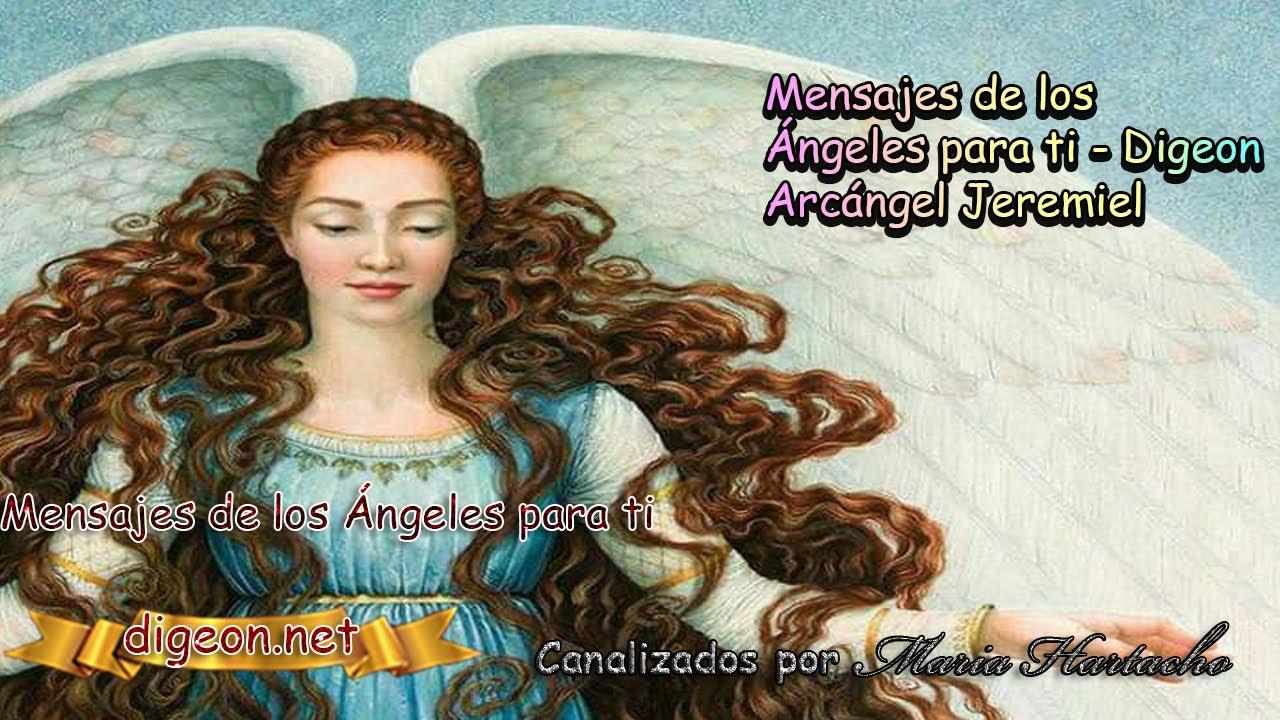 💌 MENSAJES DE LOS ÁNGELES PARA TI - DIGEON  04 de Julio - Arcángel Jeremiel 💌