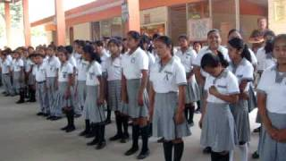 Certificacion de Escuela Saludable  Esc. Sec. Lorenzo Astereo  de Tancanhuitz ,S.L.P.