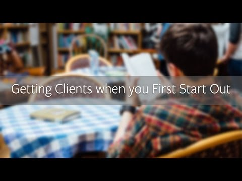 Getting Your First Web Design Clients as a New Freelancer