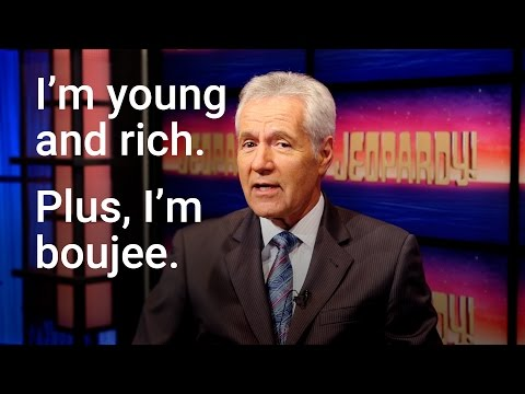 Promise - The Bizness Hourz - Check out  some of the best bars Alex Trebek dropped during Jeopardy LOL