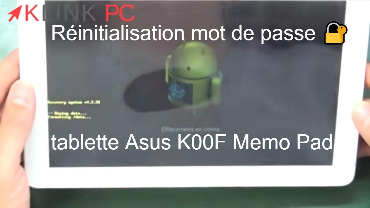Problème tablette Asus