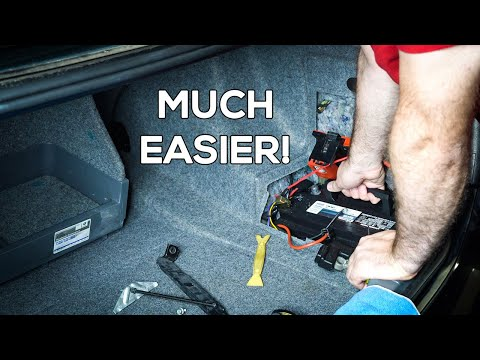 10 Minute BMW Battery Replacement & Registration!