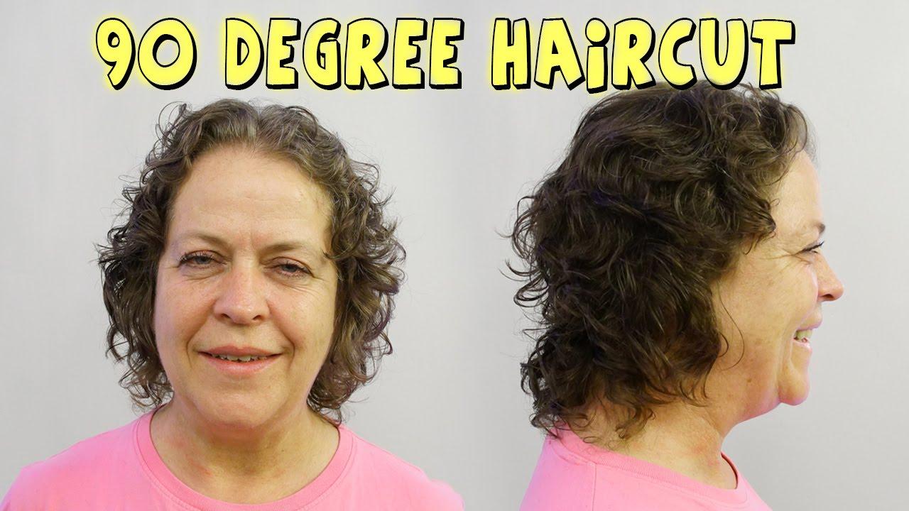 90 Degree Haircut State Board Prep Youtube