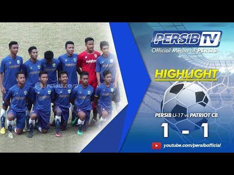 Highlights PERSIB U-17 vs Patriot CB | Final Piala Soeratin 2017 Jawa Barat
