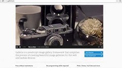 Shopify Gallery with Galleria - Step by Step