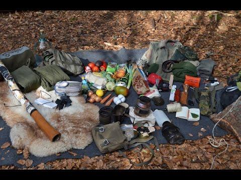 Waldläufer Ausrüstung. Messer, Rucksack, Schlafsack, Kleidung, Schuhe, ... | Outdoor AusrüstungTV