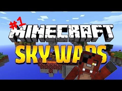 mi primera partida en cubecraft | minecraft skywards