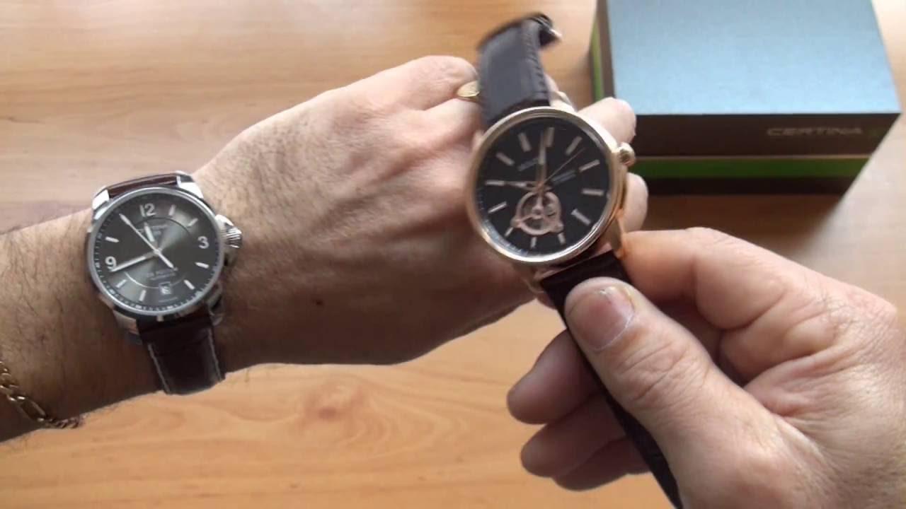 ce6132bd3af Unboxing  Relógio Certina DS Podium Automático C001.407.16.087.00 - YouTube