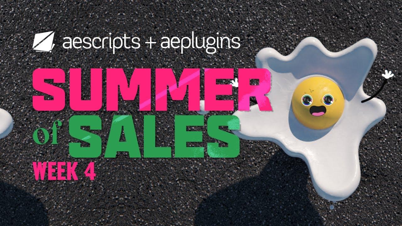 Summer of Sales | Week 4 | August 5-9, 2019