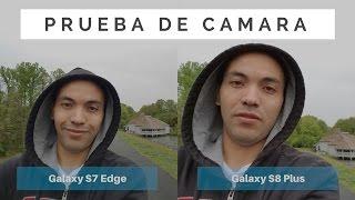 Samsung Galaxy S8+ vs Galaxy S7 Edge: Prueba de Cámara