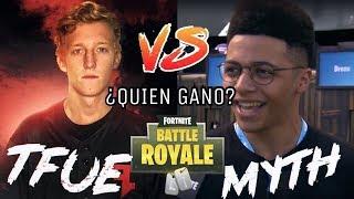 MYTH vs. Tfue // 1V1 en Patio De Juegos.