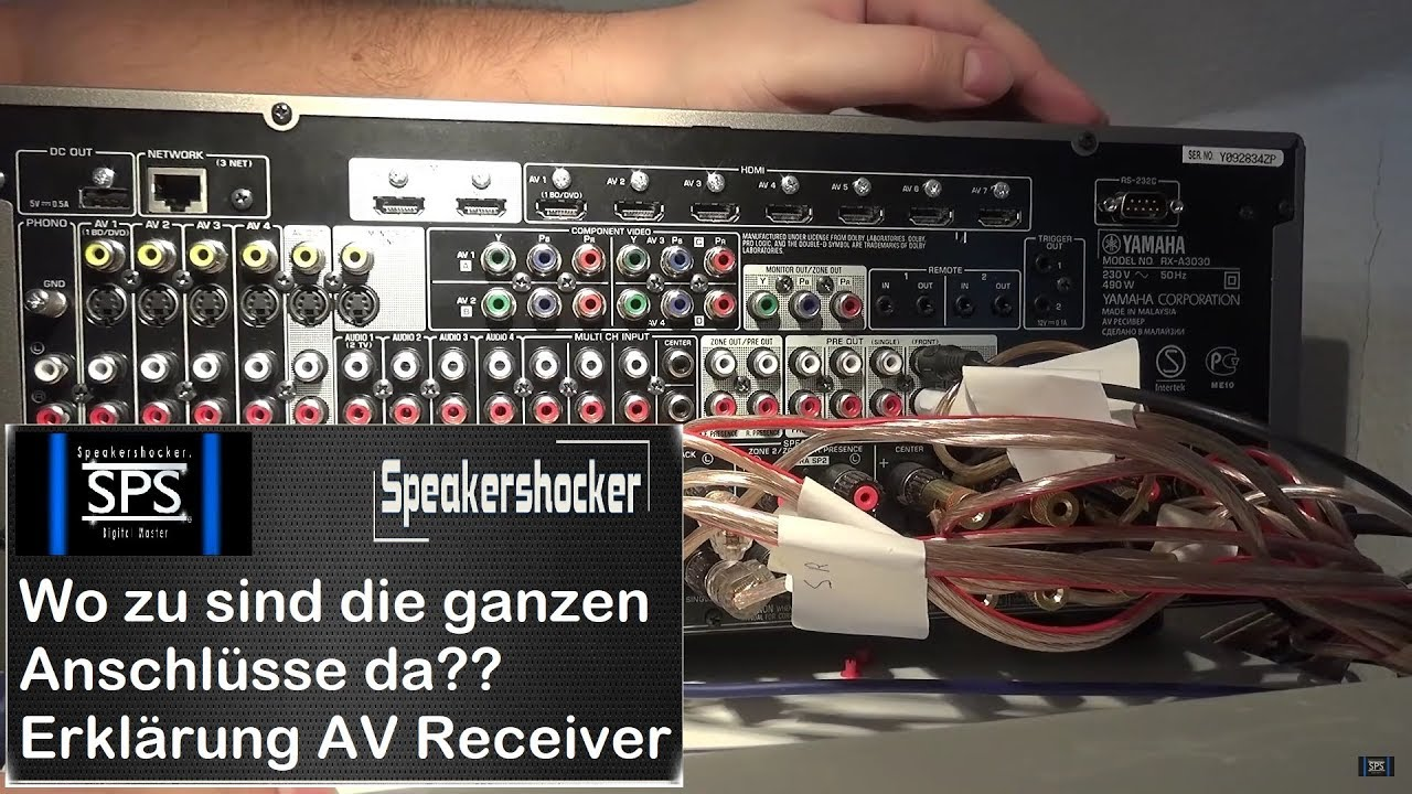Wozu sind die ganzen Anschlüsse bei einem AV Receiver