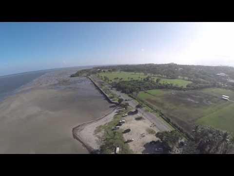Suva Fiji drone flying