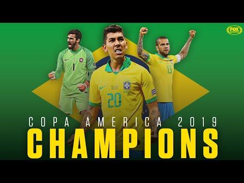 Brazil Vs Peru 3-1 Highlights Copa America Final 2019 English Commentary