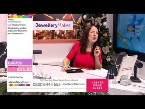 Jewellery Maker Live 19/11/2016 - 1pm - 6pm