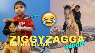 Gambar cover FUNNY VIDEO! Baby Qahtan Parody Ziggy Zagga Gen Halilintar! |  Video By Qahtan