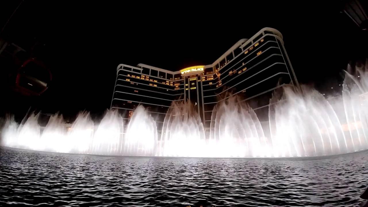 永利皇宮音樂噴泉 - YouTube