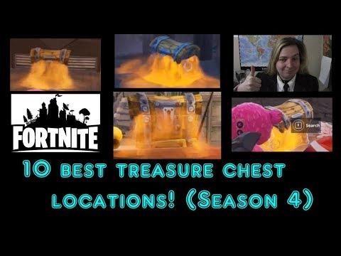 10 Best Treasure chest locations (Season 4)