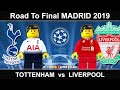 Road to Madrid 2019 • Champions League Final 2019 • Tottenham - Liverpool • Lego Football Film