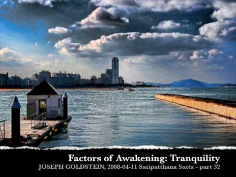 Joseph Goldstein: Tranquility as a Factor of Awakening