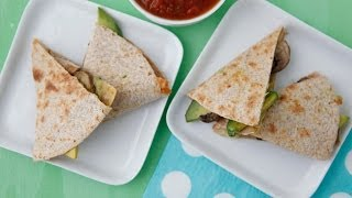 Mushroom Quesadillas - Easy Lunch Recipes - Weelicious Featuring Simply Recipes