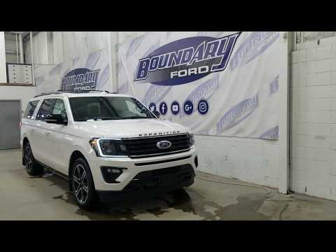 2019 Ford Expedition Limited Max 303A W/3.5L EcoBoost Nav 360 Camera Overview | Boundary Ford 19E168