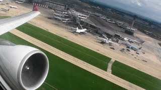 Incredible Turkish Airlines HD A330-200 Takeoff From London Heathrow!!!