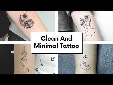 50+ Clean Minimal and Elegant Tattoo Ideas || Pooja's Fashion Closet