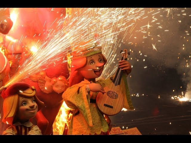 The Fallas Festival (Valencia-Spain) (English version)