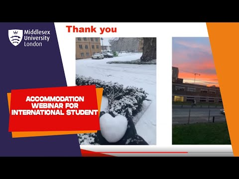 Accommodation For International Students at Middlesex University