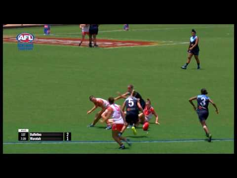 TIO NTFL 2016/17 Women's Premier League Grand Final - Buffettes v Waratah