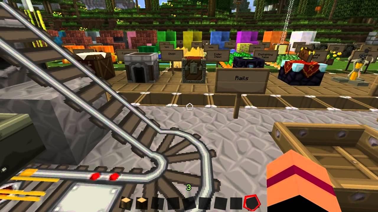 Minecraft 1.5.1: SPHAX PUREBDCRAFT - Texture pack Vorstellung - YouTube