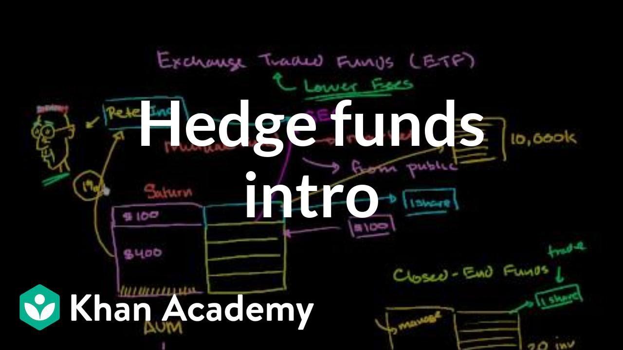 Hedge Funds Intro Finance Capital Markets Khan Academy
