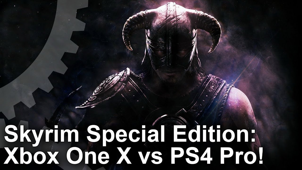 Skyrim on Xbox One X gets the job done - but we expected