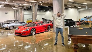 EL GARAGE SECRETO MAS KOOL DE LOS ANGELES! | Salomondrin