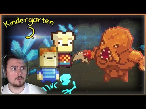 THE NEW NUGGET CAVE IS SO WRONG || Kindergarten 2 [If You Can Dodge A Nugget]