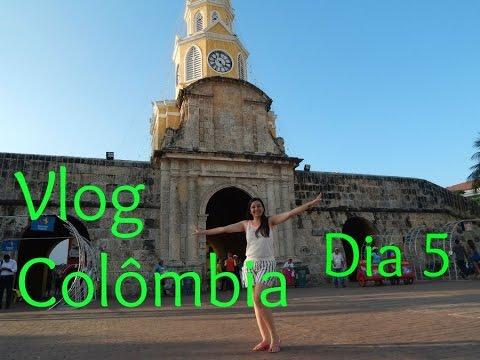 Vlog Colômbia: Dia 5 -Tour em hotel Bogotá, chegada em Cartagena e Plazas Fernandez de Madri, San Di