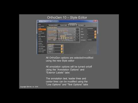 OrthoGen for CADWorx