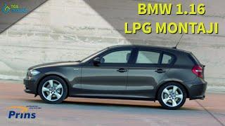 BMW 1.16 PRİNS SİLVERLİNE LPG MONTAJI
