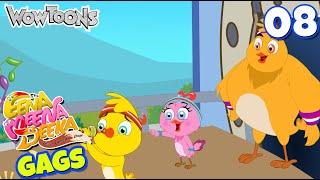 Eena Meena Deeka | New Gags 08 | Funny Cartoons for Kids | Wow Toons