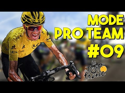Tour de France 2017 | Mode Pro Team #09 : GAUDU EXCEPTIONNEL !!
