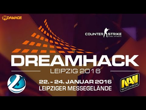 Luminosity vs. Natus Vincere | Finale, DreamHack Leipzig 2016 | de_train Map 1