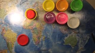 Огляд-розпакування на пластилін Play-doh.