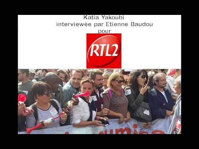 Katia Yakoubi sur RTL2